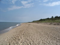 Picture Baltic Sea Beach at Dabki Poland