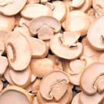 This recipe calls for slices of mushrooms.
