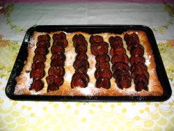 Polish plum cake