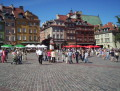 picture warsaw poland old town square