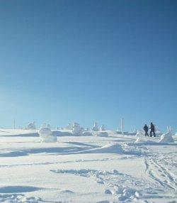 poland under snow