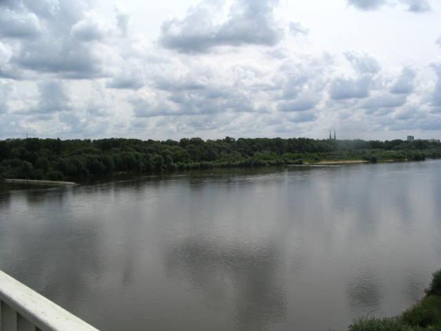 Bike Ride Over The Wisla River
