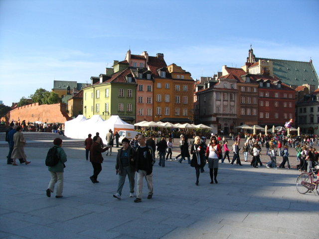 Image Picture Of Warsaw Poland Old Town