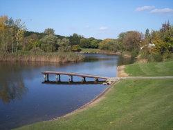 Pond At Park Szczesliwicki, Warsaw